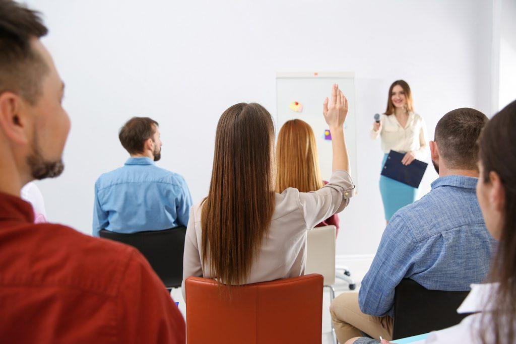 Handuppräckning, Raise your hand Google Meet